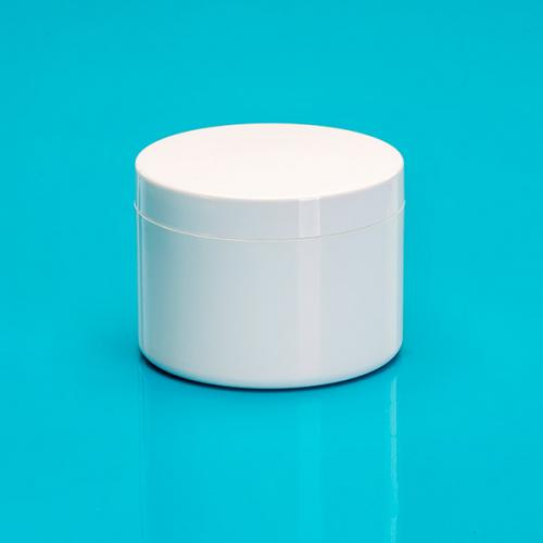 250 ml Dosen-UT, weiß, PP/PS, Deckel weiß