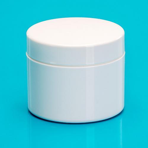 50 ml Dosen-UT, weiß, PP/PS, Deckel