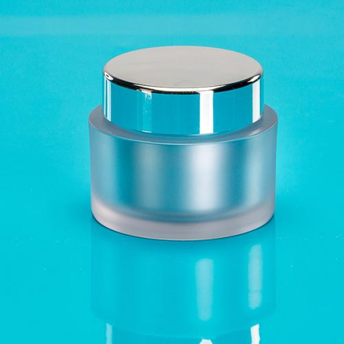 50 ml SAN jar, frosted with
