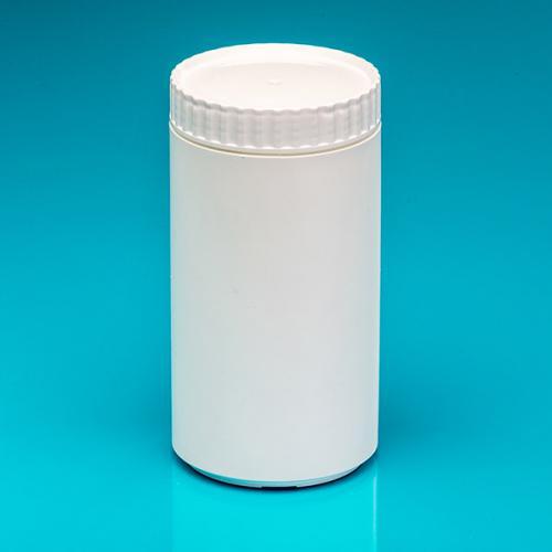 1000 ml Dose, weiß, PE, einwandig, Deckel
