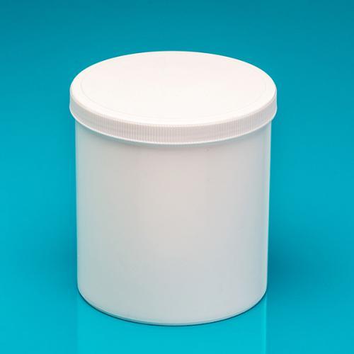 1500 ml Dose, weiß, einwandig, PP