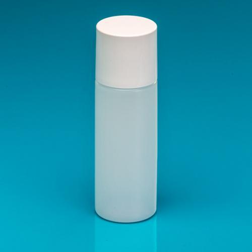 """200 ml Flasche natur HDPE, Deckel weiß, PP, Spritzeins. """"Avantgarde"""""""