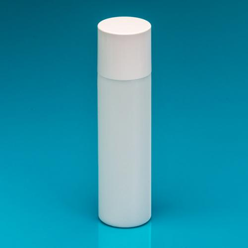 250 ml extra strong bottle nature PE,  lid white, spray-insert