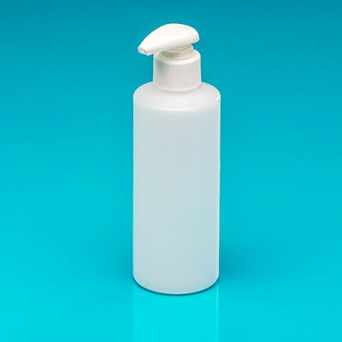 200 ml Flasche natur HDPE, Dispenser