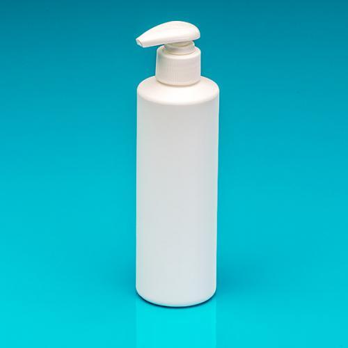 250 ml Flasche weiß HDPE Dispenser