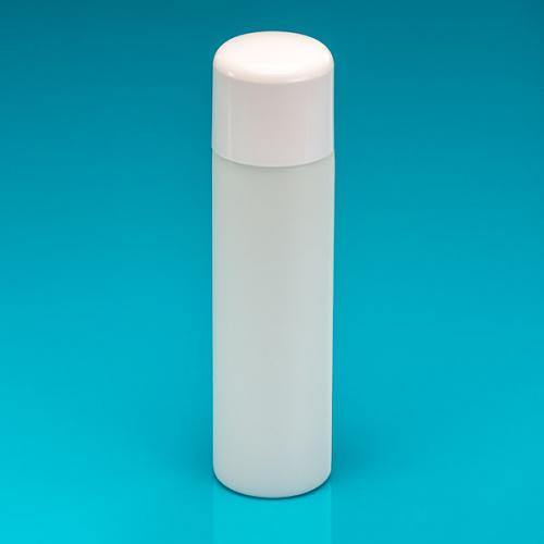 """250 ml Flasche natur, PE-dickwandig Deckel weiß, Spritzeinsatz """"Softline"""""""