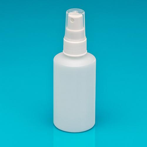 150 ml Flasche natur, HDPE, Sprühkopf