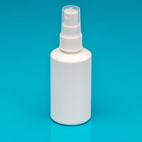 150 ml Flasche weiß, HDPE, Sprühkopf