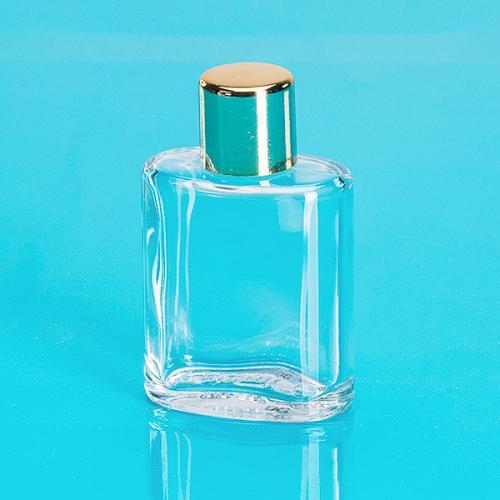 30 ml Glas-Flasche klar, oval
