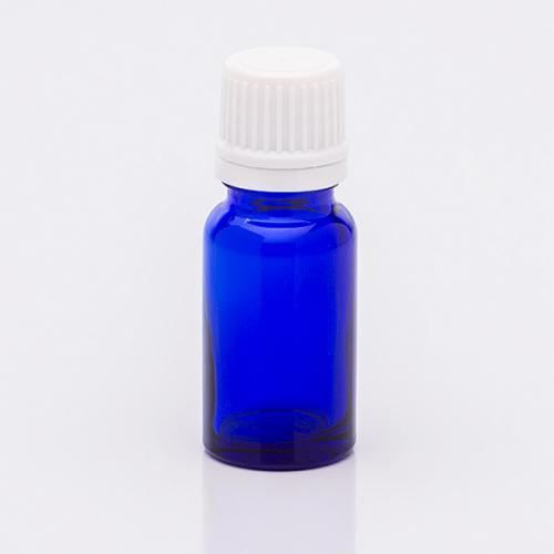 10 ml Blauglasflasche Originalitätsverschluß