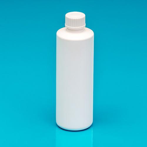 """100 ml Flasche weiß, PP, DIN18, Schraubversch. weiß, """"Pharma"""""""