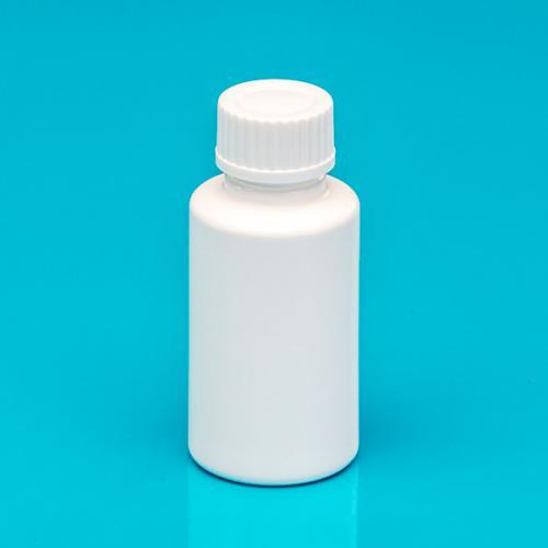 """30 ml Flasche weiß, HDPE Schraubverschluss weiß, """"Pharma"""""""