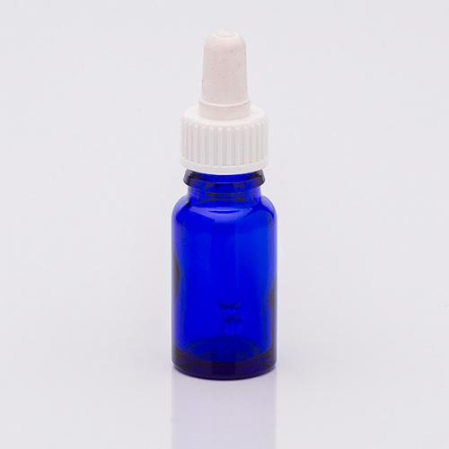 10 ml Blauglasflasche, SV