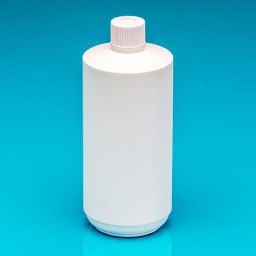 500 ml bottle white PE,  lid white UF