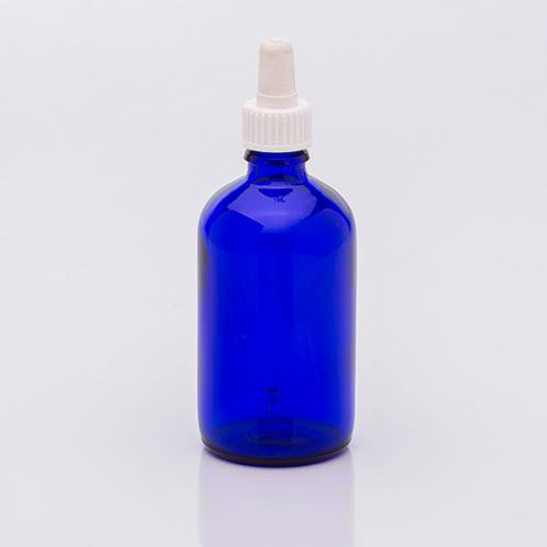 100 ml Blauglaflasche, DIN18, SV
