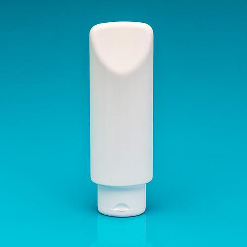 200 ml Tubenflasche weißLD/HDPE Klappscharnierverschluss weiss