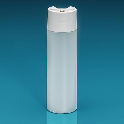 200 ml Flasche Green PE natur, DiscTop PP weiß