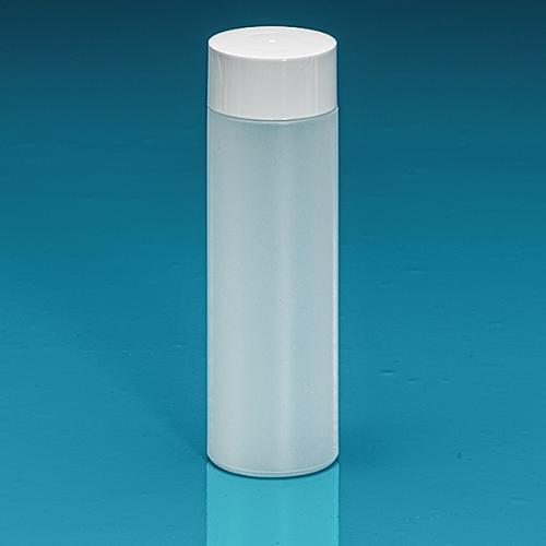 200 ml Flasche Green PE natur, SV groß PP weiß, Spritzeinsatz LDPE natur