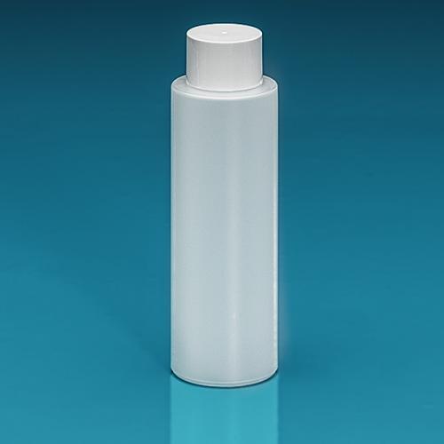 200 ml Flasche Green PE natur, SV klein PP weiß, Spritzeinsatz LDPE natur