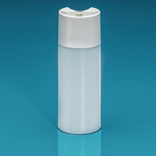 150 ml Flasche Green PE natur, DiscTop PP weiß