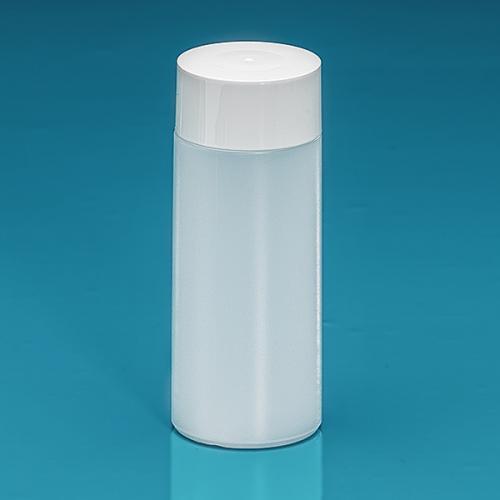 150 ml Flasche Green PE natur, SV groß PP weiß, Spritzeinsatz LDPE natur