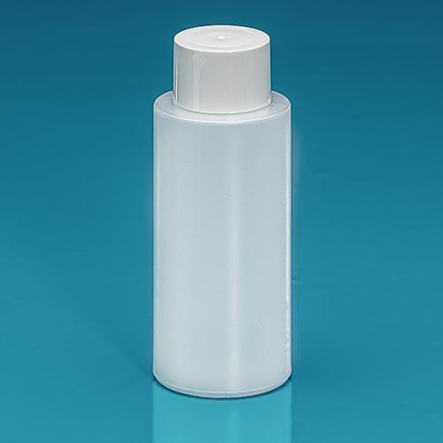 150 ml Flasche Green PE natur, SV klein PP weiß, Spritzeinsatz LDPE natur
