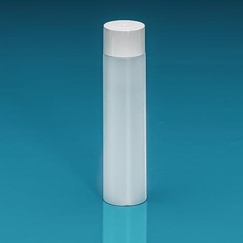 100 ml Flasche Green PE natur, SV klein PP weiß, Spritzeinsatz LDPE natur