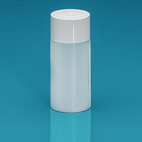50 ml Flasche Green PE natur, SV klein PP weiß, Spritzeinsatz LDPE natur