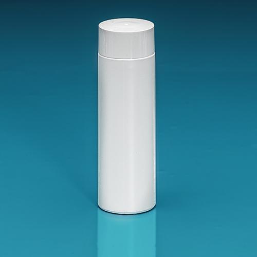 200 ml Flasche Green PE weiß, SV groß PP weiß, Spritzeinsatz LDPE natur