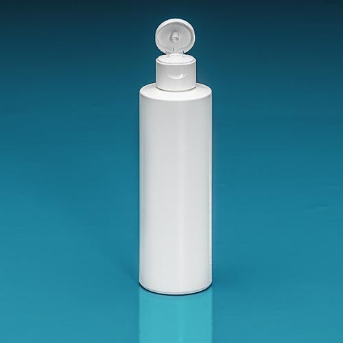 200 ml Flasche Green PE weiß, Flip-Top PP weiß