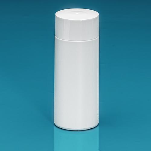 150 ml Flasche Green PE weiß, SV groß PP weiß, Spritzeinsatz LDPE natur