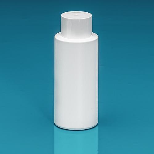 150 ml Flasche Green PE weiß, SV klein PP weiß, Spritzeinsatz LDPE natur