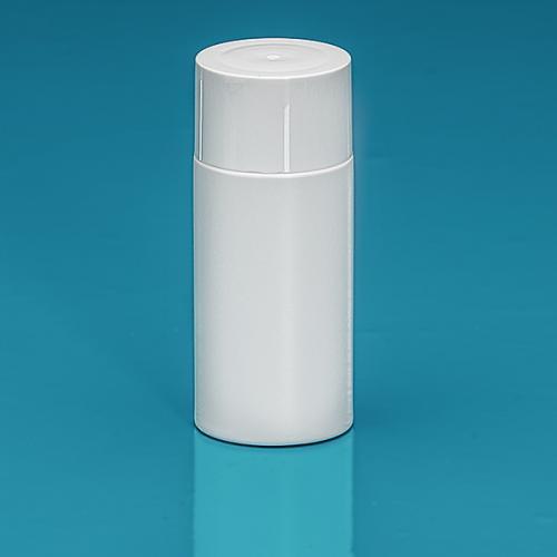 50 ml Flasche Green PE weiß, SV klein PP weiß, Spritzeinsatz LDPE natur