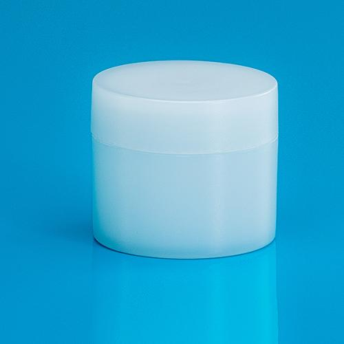 30 ml Dose Green PE, natur, Deckel und Abdeckscheibe Green PE natur