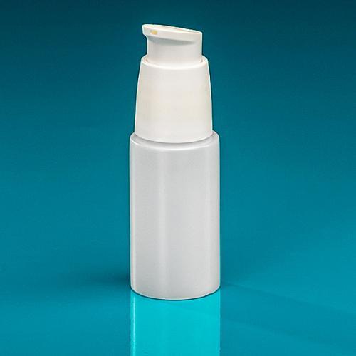 50 ml Flasche Green PE natur, Dispenser weiß verriegelbar, Hub 0,5 ml, Steigrohr ungekürzt