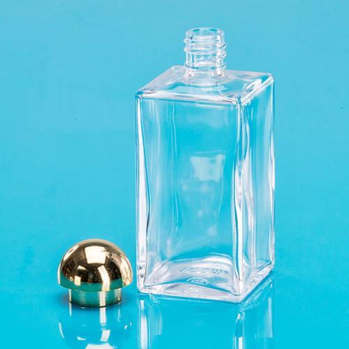 gerschon verpackungen 100 ml klarglas flasche eckig online kaufen. Black Bedroom Furniture Sets. Home Design Ideas