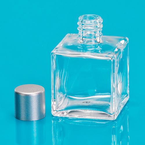 gerschon verpackungen 50 ml glas flasche viereckig. Black Bedroom Furniture Sets. Home Design Ideas