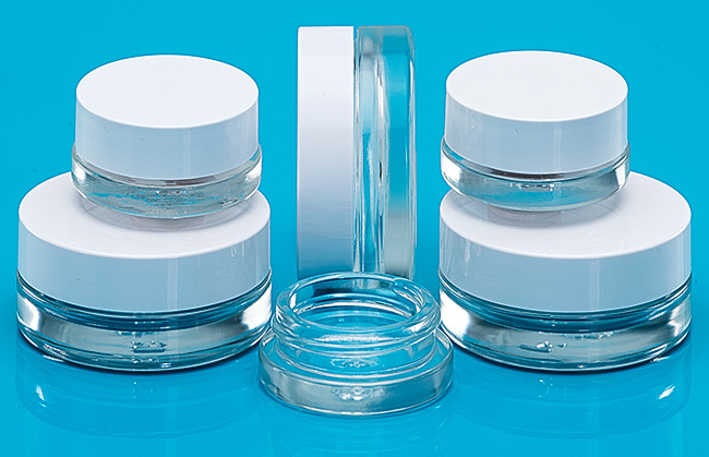 Flas glass jars